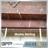 Mattonelle di bordatura di marmo rosse Polished di M222 Rosso Alicante per il pavimento di marmo ed il disegno interno