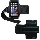 Flexível impermeável Running Sport Armband Pouch for Mobile Phone