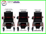 Sillón de ruedas eléctrico plegable portable ligero de la alta calidad para lisiado, más viejo, Handicapped