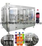 Terminar a linha de produção do suco de fruta do frasco de vidro para o tampão de coroa do tampão do Al