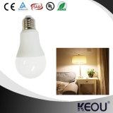 Ampoules économiseuses d'énergie d'A60 E27 7W 9W 12W AC85-260V DEL avec la conformité de RoHS SAA de la CE