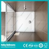 アルミニウム緩和された薄板にされたガラス(SE917C)が付いているシャワーによって蝶番を付けられるスクリーン
