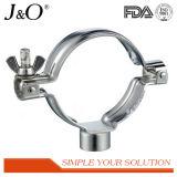 Suporte inoxidável sanitário da tubulação da sustentação de tubulação da câmara de ar do suporte da tubulação de aço