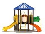 114mm гальванизированное детей палубы шестиугольника столба оборудование спортивной площадки цветастых напольное