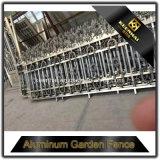 Самая последняя загородка сада литого алюминия конструкции загородки 2017