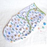 Schlaf-Sack Swaddle Sommer-Kind 0-3 Monate Flausch Sleepbag Sleepsack kleine MED-