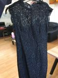Lace Dress, alineada de moda, ropa, Ld005 de señora