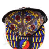 Neuer Hysteresen-Stickerei-Form-Sport-flache Masken-Schutzkappen