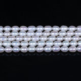 Hilo de agua dulce natural de la perla de la calidad del AAA