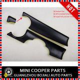 ABS tout neuf type protégé UV en plastique de Jack des syndicats de noir de couverture de tableau de bord de LHD et de Rhd pour Mini Cooper R55-R59 (2 PCS/Set)