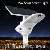 Bluesmart hoher Umrechnungssatz von Suns Strahlungs-Solarstraßenlaterne15W