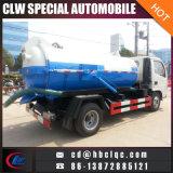 Caminhão de tanque da canalização do caminhão da canalização de Dongfeng 5m3 4ton