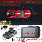 """최신 3.0 """" 5.0mega 차 사진기, G 센서, 움직임 탐지, 야간 시계, WDR DVR-3001를 가진 가득 차있는 HD1080p 차 DVR"""