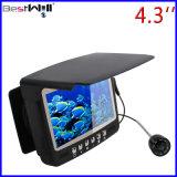 4.3 het Digitale LCD Scherm HD 1000 de OnderwaterCamera Cr110-7hbs van '' van de Visserij van het Ijs van de Camera van de Visserij Tvl met zon-Vizier met de Sterke Kabel van 1530m