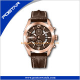 Shenzhen-Fabrik-Entwerfer-Marke Ihre eigene Uhr-kundenspezifische Firmenzeichen-Uhr personifiziert