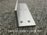 6063/6061 alliage en aluminium d'extrusion a balayé le profil soufflé/par Matt anodisé de /Sand