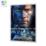 """рамка плаката киноего 27 """" X40 """" алюминиевая СИД для коробки установленной стеной освещенной контржурным светом светлой"""