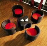 Mobilia del giardino della mobilia del rattan del PE