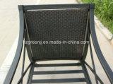 Potere di alluminio che ricopre 4 parti del sofà della mobilia esterna del tessuto stabilito