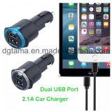 iPhone Samsungのためのユニバーサル速い二重USB車の充電器
