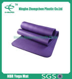 Esteira Eco-Friendly da ioga da espessura NBR da esteira 12mm dos esportes para a aptidão 2017