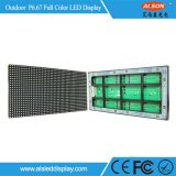 단계를 위한 옥외 P6.67 풀 컬러 임대 LED 스크린