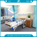 AG-BMS101A enfermería Cama 2 Bielas Manual de Medicina cama de hospital Paciente cama
