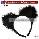 Bijou adulte de cheveu de lapin de goujon de bijou de costume (P4036)