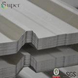 Lo zinco ha ricoperto lo strato d'acciaio del tetto galvanizzato metallo dei materiali da costruzione