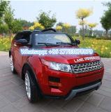 Младенца цвета Land Rover автомобиль игрушки желтого воспитательного электрический