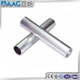 Tube en aluminium anodisé de profil d'extrusion de taille normale