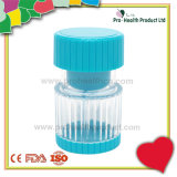 Pille-Zerkleinerungsmaschine mit Pille-Behälter
