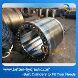 Barillet à cylindre hydraulique personnalisé, tube à tête caillée