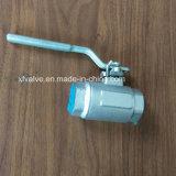 O ANSI forjou a válvula de esfera da extremidade da soldadura do aço inoxidável F316