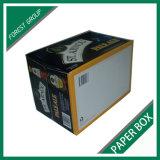 Коробка подарка гофрированной бумага конструкции способа для одежды