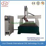 기계 CNC를 만드는 모형을 광고하는 알루미늄 목제 표시