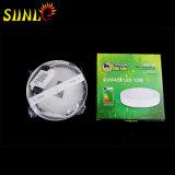 Sufaceタイプ円形LEDの軽い壁パネル12Wの価格