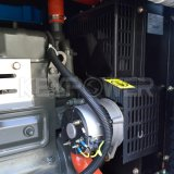 petite production d'électricité électrique insonorisée portative de générateur du moteur diesel 7kw
