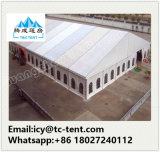 1.000 plazas de aluminio Carpa carpa para la iglesia con paredes laterales lisos de PVC
