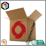 Fuerte caja de embalaje de cartón corrugado Kraft almacenamiento mayorista