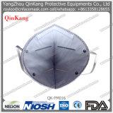 Maschera di protezione pieghevole non tessuta a gettare della polvere