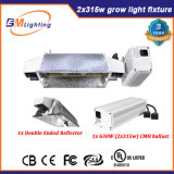 L'horticulture Froid-Démarrent le ballast mince 2*315With630W CMH de Dimmable Digital