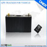 Perseguidor del vehículo del GPS con la tarjeta del SD para el maderero de datos