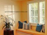 셔터 고품질 나무로 되는 Windows 백색 실제적인 나무로 되는 셔터 SGD L 5982