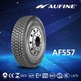 Тележка Aufine & покрышка шины с оптовой ценой (11R22.5, 315/80R22.5)