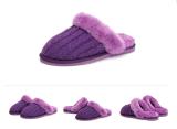 Poussoirs d'intérieur de tricotage purement fabriqués à la main de femmes de laines