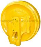 O tensor dianteiro para a estrutura pequena da construção do OEM MOQ da escavadora da máquina escavadora parte a roda de Guider