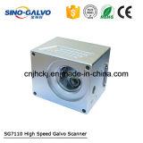 Pista económica del Galvo Sg7110 de la mejor calidad para la máquina de la marca del laser de la fibra