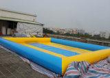 2016 Los más populares 0,6 ~ 0,9 mm de PVC grande al aire libre personalizada piscina inflable