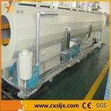 Linha de extrusão de tubos de PVC 75-160mm com fórmula de extrusão de tubos